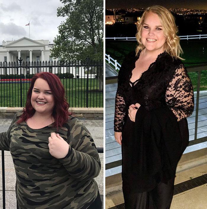 Узнав, что молодой человек стыдится ее веса, американка Саманта Роули похудела на 90 кг, и теперь ее сложно узнать