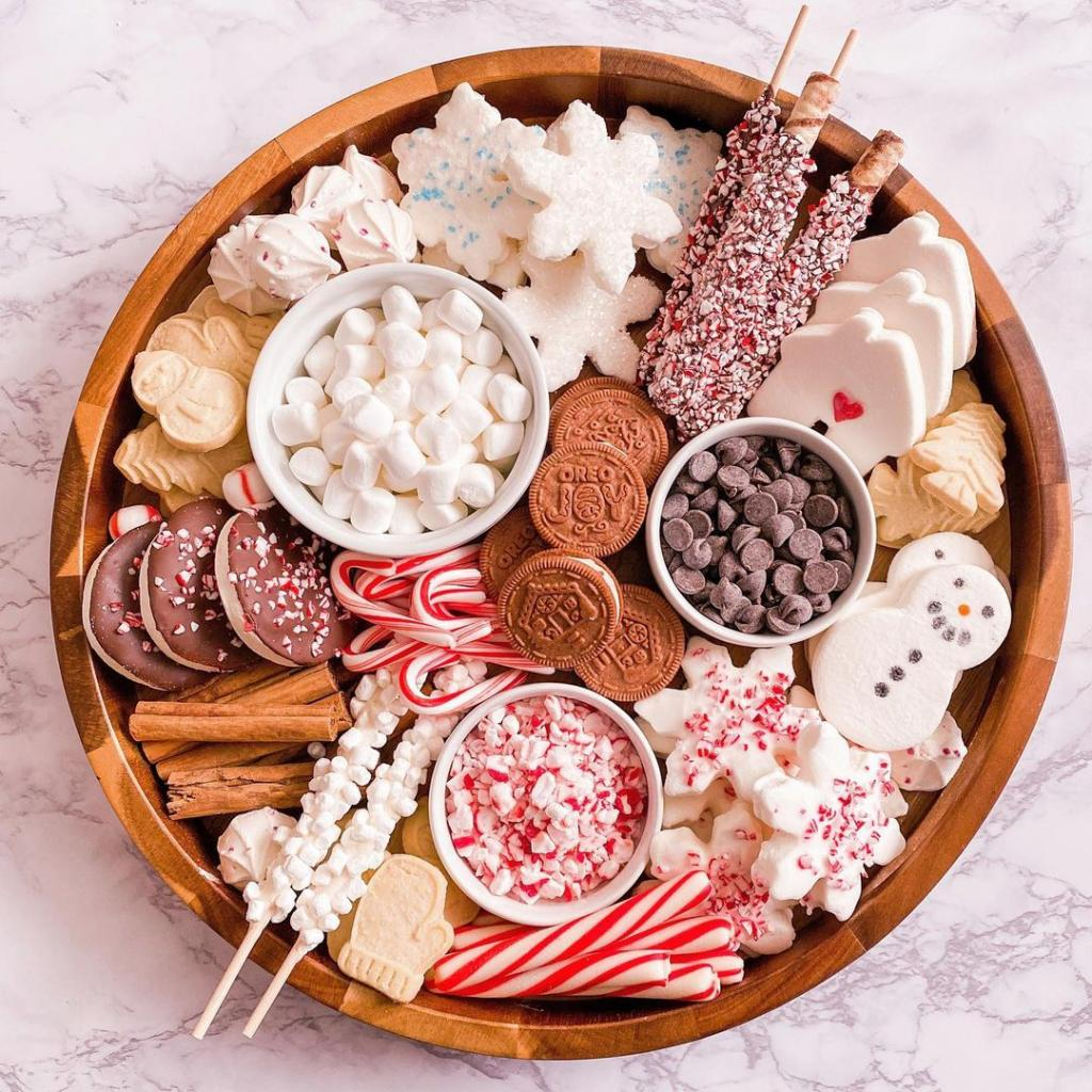Идеальный вариант для зимних вечеров: хотите добавить тепла и уюта – порадуйте близких какао доской