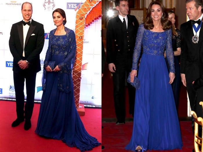 10 примеров, когда королевские особы носили одну и ту же одежду дважды