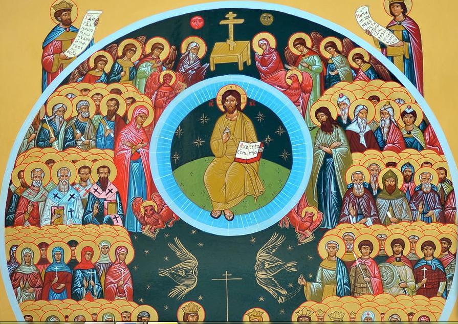 Даже представить трудно, какой силой обладает икона «Собор всех святых»: история происхождения и в чем она помогает