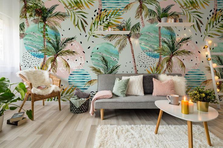 Модные обои 2021, которые преобразят ваш дом: рисунки животных, цветов и не только