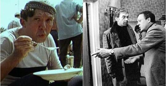Пятнадцать закадровых снимков со съемок советских кинокартин