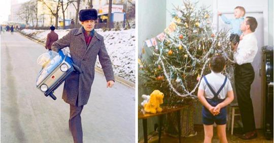 15 снимков Нового года из детства, с их праздничной, тёплой атмосферой