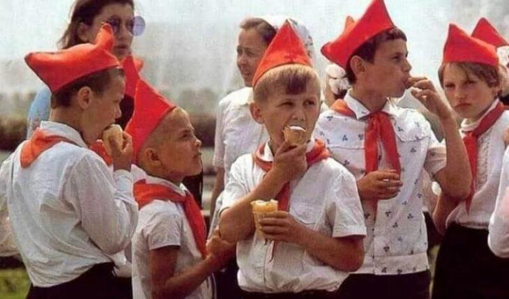 Несколько снимков советского детства
