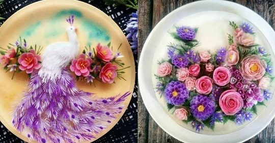 Невероятные желейные торты восхищают реалистичностью и красотой