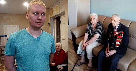33-летний житель Екатеринбурга сделал бесплатный ремонт ветерану ВОВ к 9-му мая