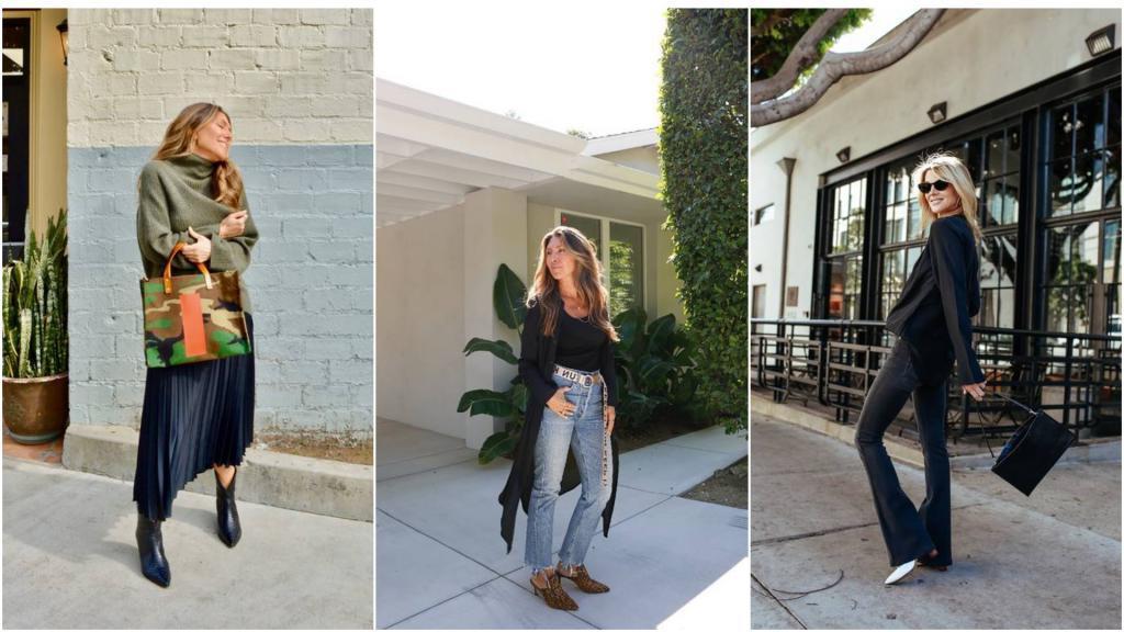 Выглядеть непринужденно и модно в 50+? Юбки-миди, брюки, пуловеры по советам стилистов