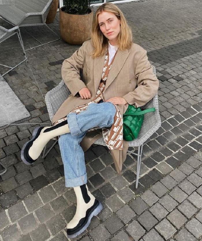 Сапоги на платформе снова в моде: как носить модную обувь в этом году