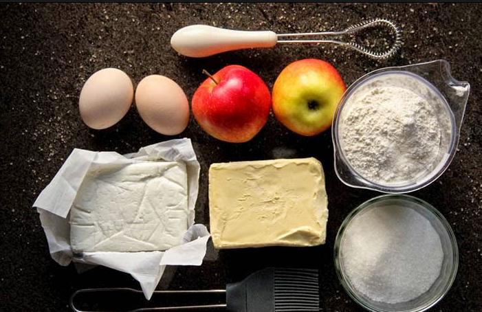 Красивое и необычное печенье с яблоками: готовится проще простого