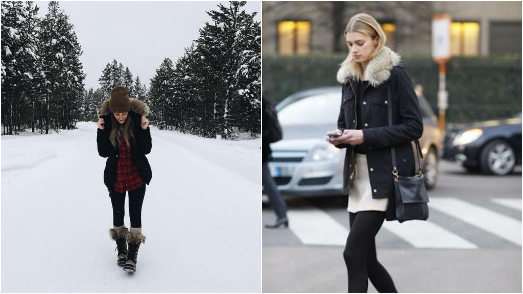 Выглядеть стильно и стройно зимой сложно? Ремень и объемные шарфы помогут исправить положение