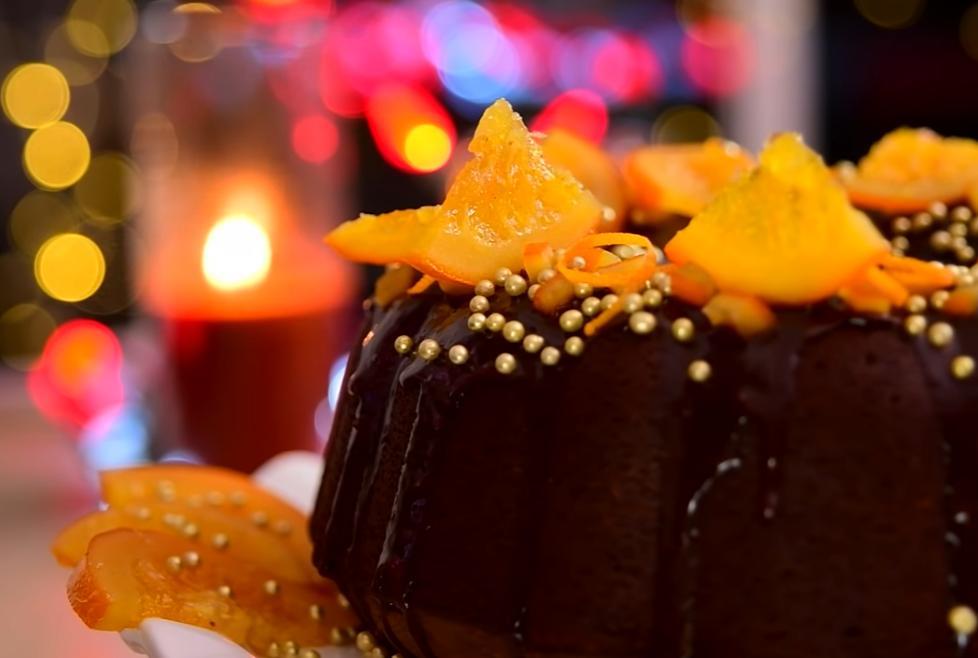 Шоколадный кекс с апельсином, имбирем и корицей скрасит зимний вечерок