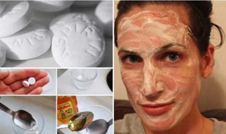 Неожиданный ингредиент для красоты: маски от морщин с аспирином
