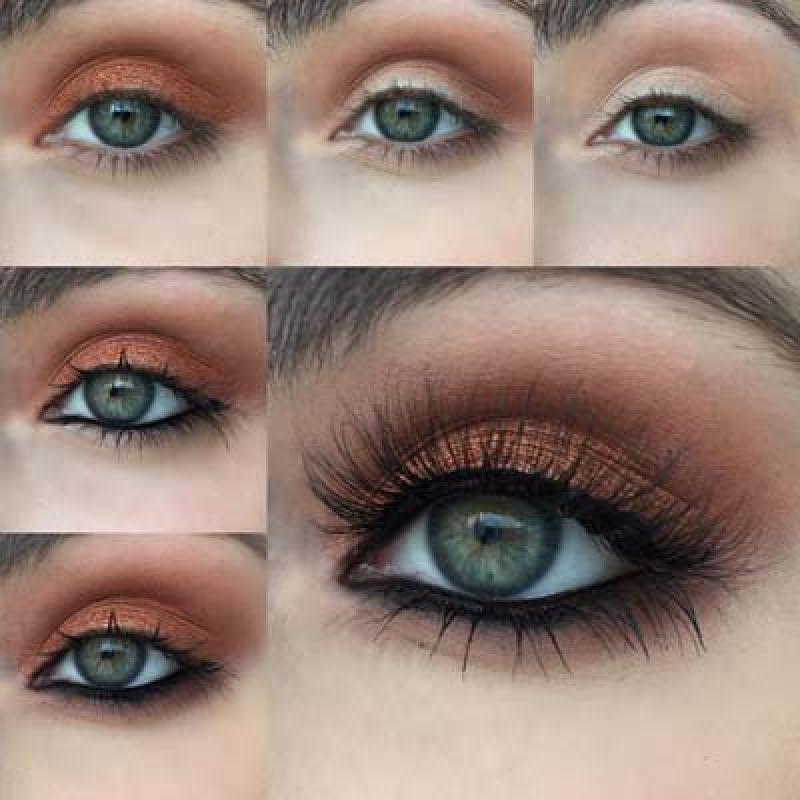 Макияж для девушек с зелеными глазами: какие оттенки подходят больше всего (идеи мейкапа и советы по нанесению)