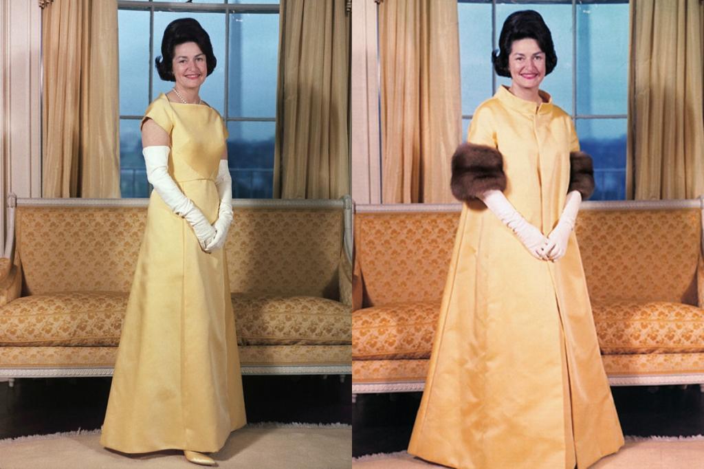 Инаугурационные платья первых леди США от Жаклин Кеннеди до Мелании Трамп (фото)