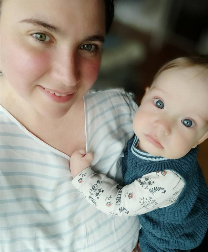 Россиянка Оксана родила от норвежца 2 сыновей: как выглядят голубоглазые парни