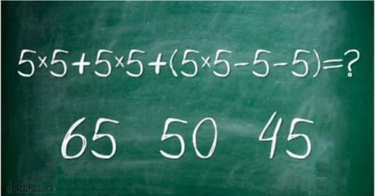 А вам удастся решить эти простые математические примеры за 10 секунд?