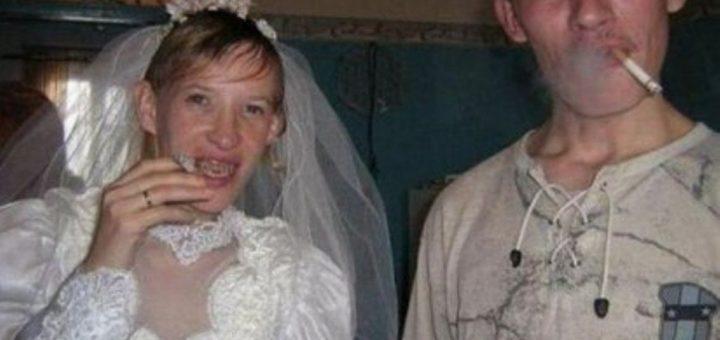 «Сногсшибательные» невесты : Не дай Бог такую увидеть ночью…(ФОТО)