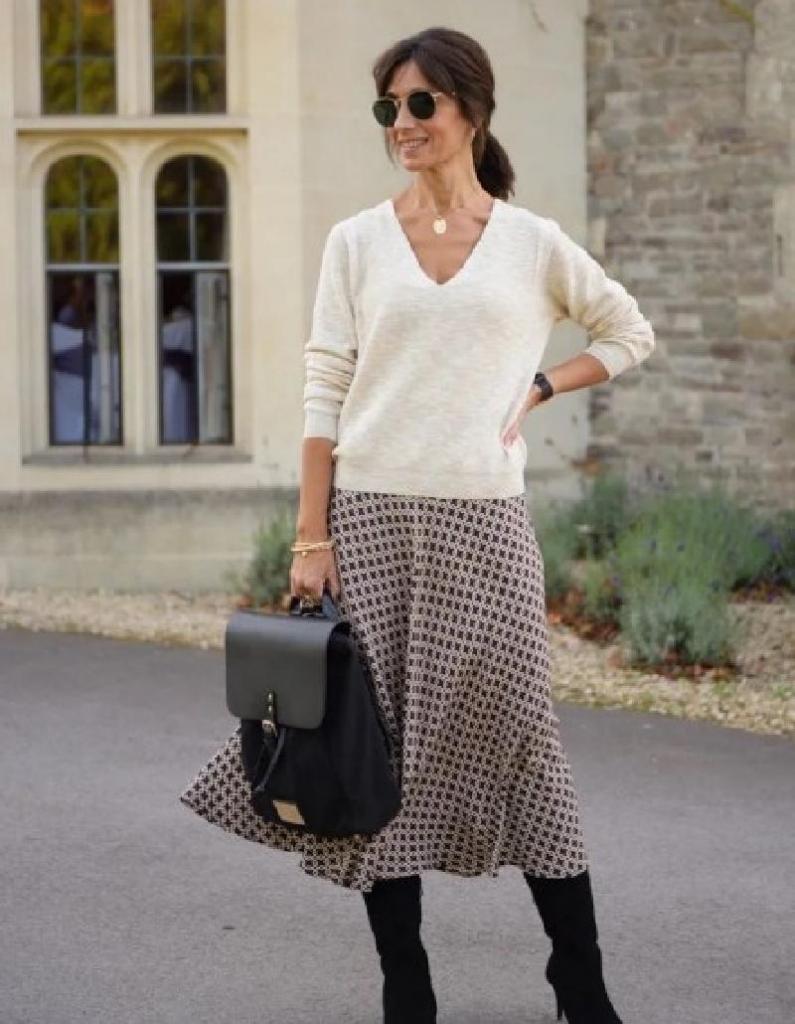 Женщины, которые и в 50 лет выглядят модными и стильными