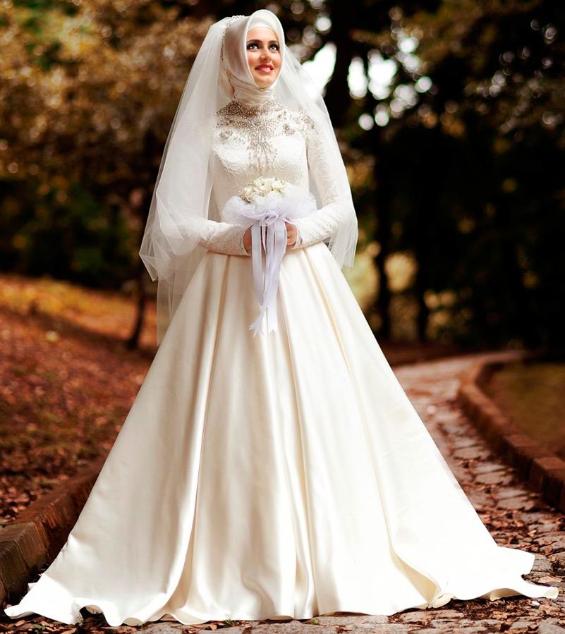 Женщины в исламе: завораживающая красота свадебного хиджаба