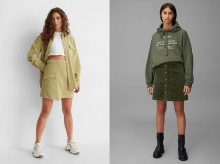 Вельвет? Забудьте о прошлом и носите его по-современному: модные в 2021 году юбки, рубашки и куртки