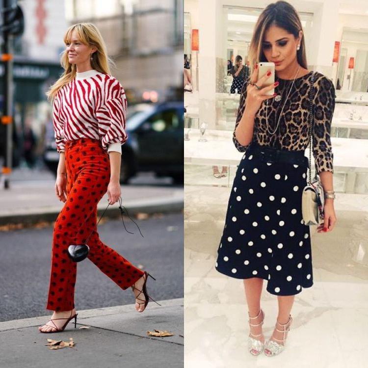 Микс принтов   модная тенденция весенне летнего сезона 2021: что и как сочетать между собой