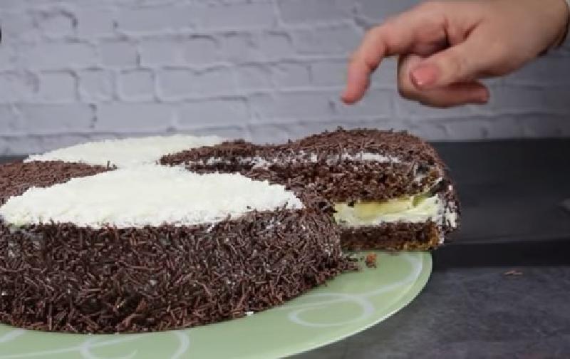 Любимый десерт: нежный шоколадно банановый торт  Три стакана . Простой рецепт доступен даже начинающим хозяйкам
