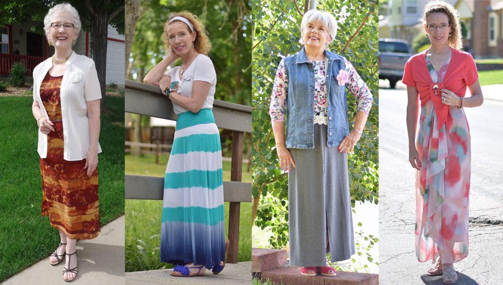 Сиять, несмотря на возраст: 10 элегантных нарядов для женщин 60+