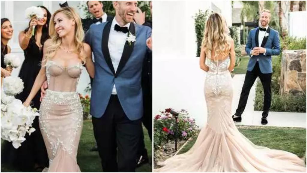 Если хочется надеть на свадьбу запоминающееся платье: примеры очень смелых нарядов, но без тени вульгарности
