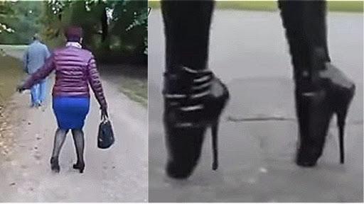 ВИДЕО: А я иду такая вся… или девушки на каблуках
