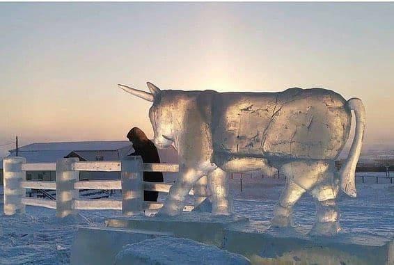 16 фото из ледяной Якутии, где люди настолько суровые, что выживают при  50°C