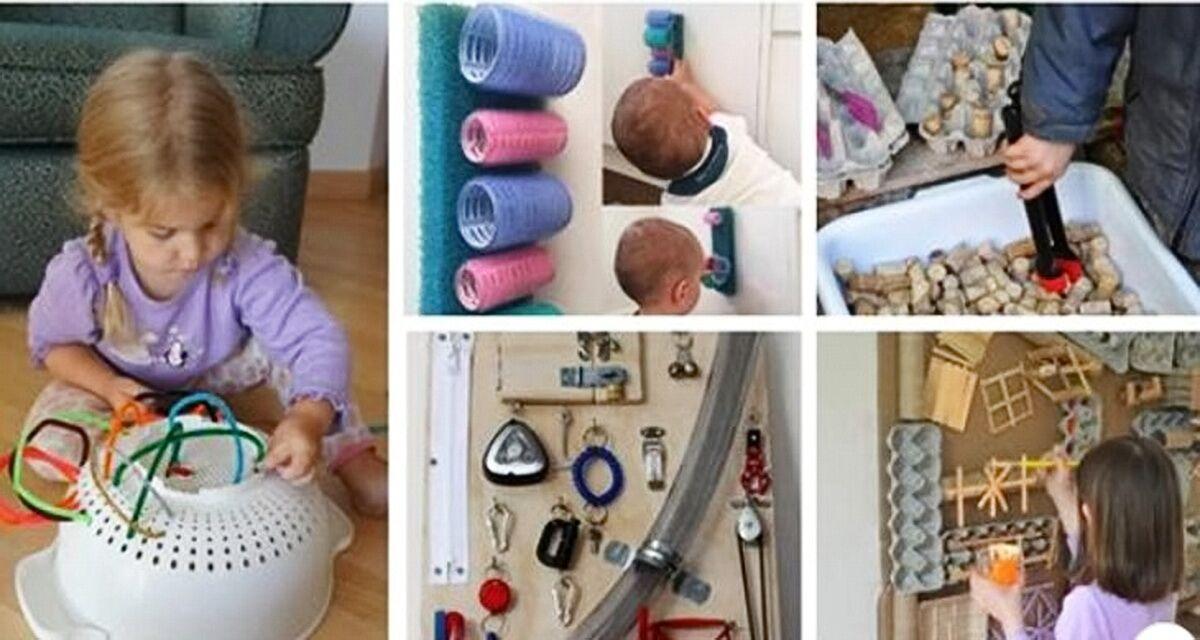 Гениальные советы для родителей, как занять ребенка на несколько часов