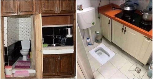 Смарт квартиры, которые поражают даже бывалых риелторов: кухня и туалет в одной комнате (15 фото)