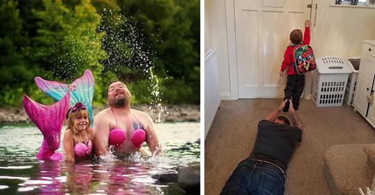 15 примеров отцовского юмора, самого доброго и беспощадного (15 фото)