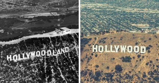 15 фотографий, которые покажут, как время изменило известные места, разделив мир на тогда и сейчас