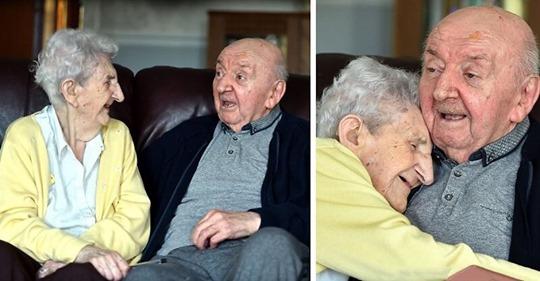 98 летняя мама переехала в дом престарелых, чтобы ухаживать за своим 80 летним сыном