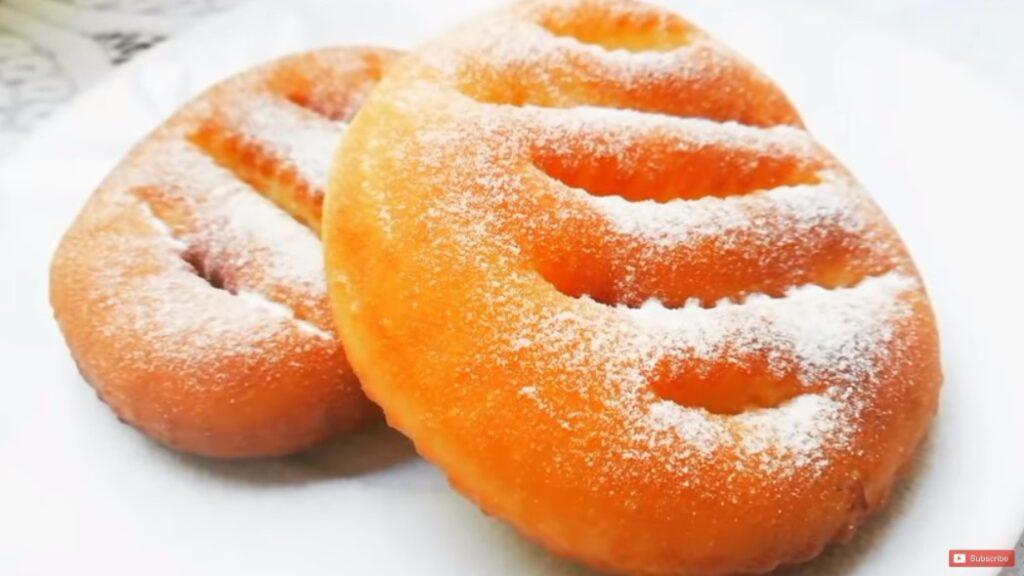 Новый рецепт сахарных пончиков. Без масла, без разрыхлителя!