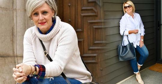 Весенний базовый гардероб женщин элегантного возраста: модные примеры и комбинации