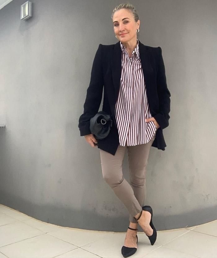 Мода для женщин за 40: как подобрать обувь под разные фасоны брюк
