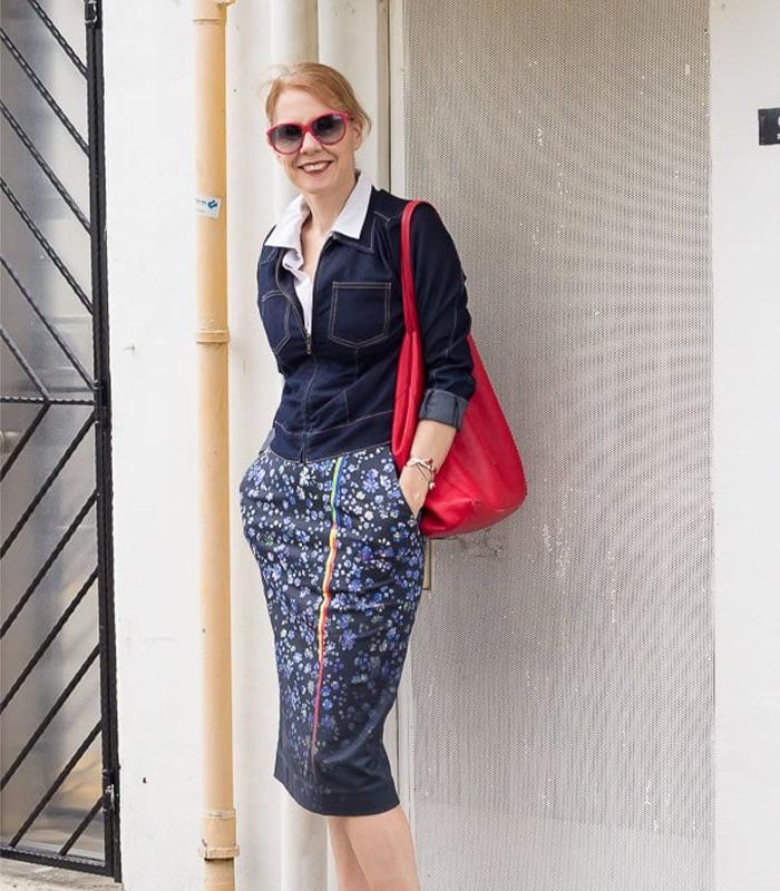 Сдержанно, но все равно стильно: юбки какой длины и фасона выбирать дамам за 40