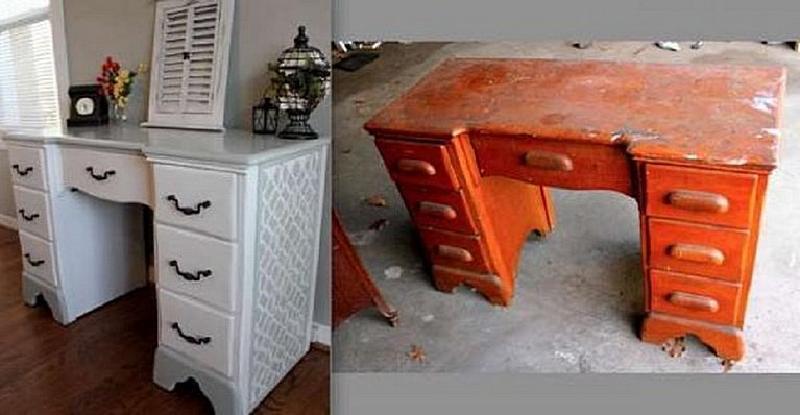 Удивительное преображение мебели: фото до и после работы мастера
