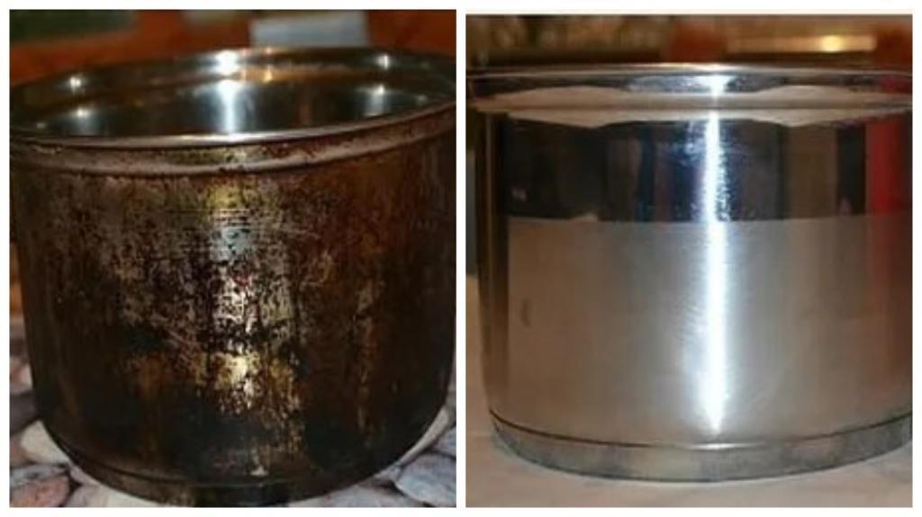 Как отмыть старую любимую сковороду: отличное средство, которое рекомендую всем