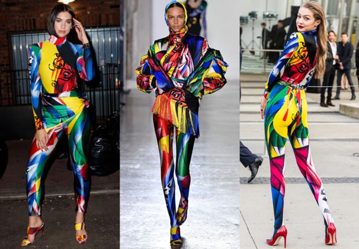 Не только черные: как и с чем носить цветные легинсы, которые будут в тренде весь 2021 год