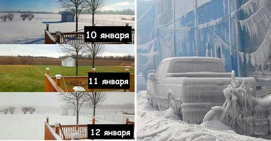 16 парадоксальных случаев, когда погода окончательно сошла с ума и сломала всем мозг