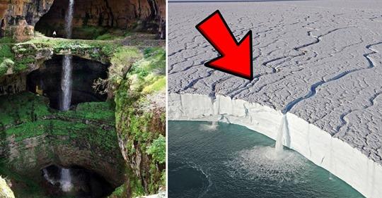 Удивительные водопады, которые похожи на чью-то фантазию (19 фото)
