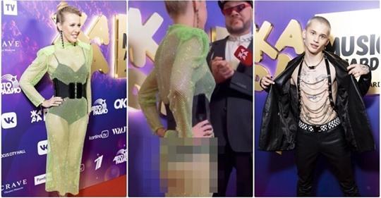 Собчак с голой попой и другие безвкусные наряды звезд на премии