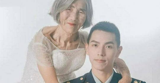 История очень необычной пары: жениху 24, невесте — 85