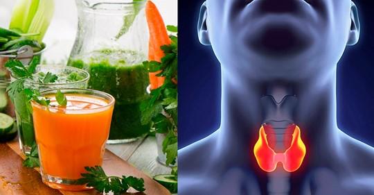 Полезные целебные смузи для здоровья щитовидной железы