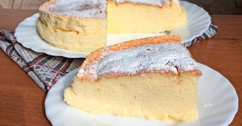 Йогуртовый пирог: легкая выпечка, в которой не нужны мука и масло