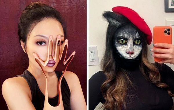 20 работ от китаянки, которая создаёт оптические иллюзии своими руками, принципиально не используя фотошоп