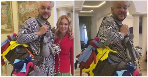 Рудковская подарила Киркорову сумку за миллион рублей